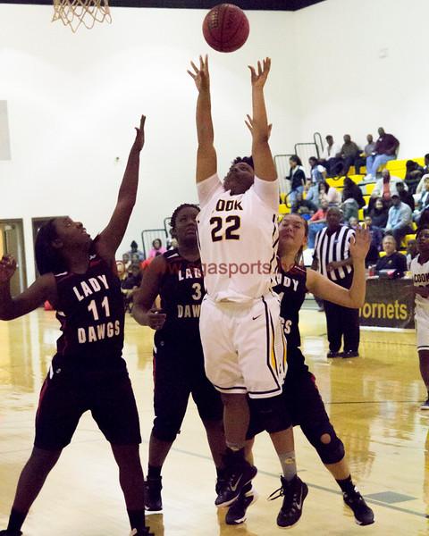 Cook vs Lanier-Girls Basketball