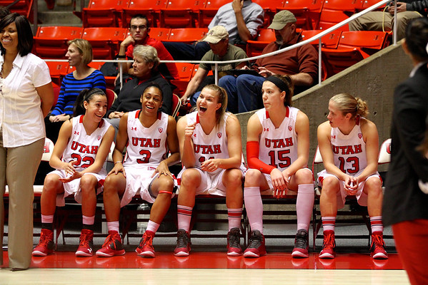 U of U WBB vs UC Irvine 12-20-2012