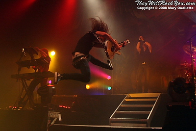 Dragonforce<br>November 29, 2008<br>The Palladium - Worcester, MA <br> Photos by:  Mary Ouellette