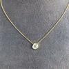 1.02ct Antique Heart Diamond Bezel Pendant 12