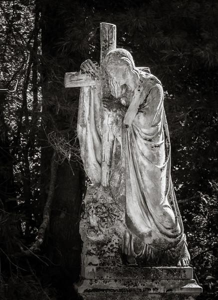 Grief, Lexington Cemetery #7