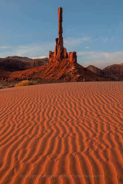 The Tall Totem - Monument Valley