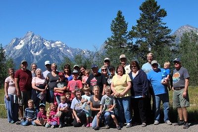 2018-07-20 Bodily Family Reunion-Colter Bay Service Project