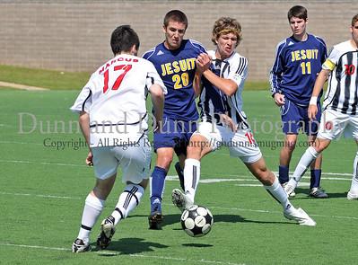 2008-04-05 - Regional Final - Marcus v Dallas Jesuit - Boys Varsity Soccer