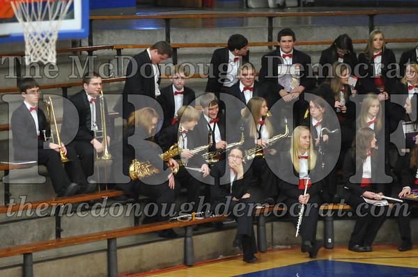 HS Band Christmas Concert 12-16-12