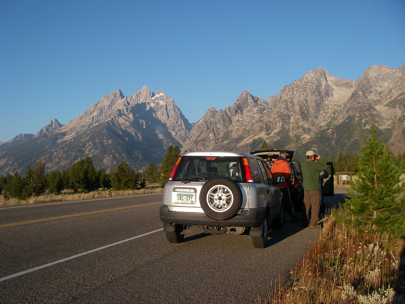 Towards Grand Teton range