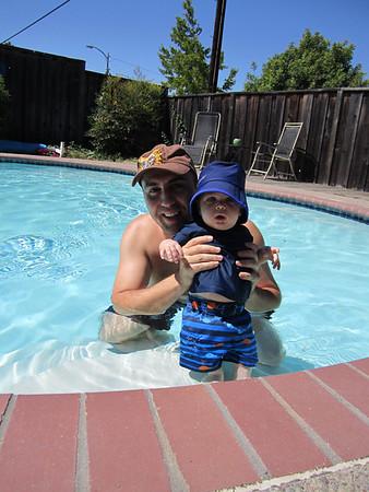 Trent First Swim 0910