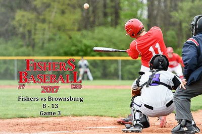 Fishers vs Brownsburg Gm3 - JV Red