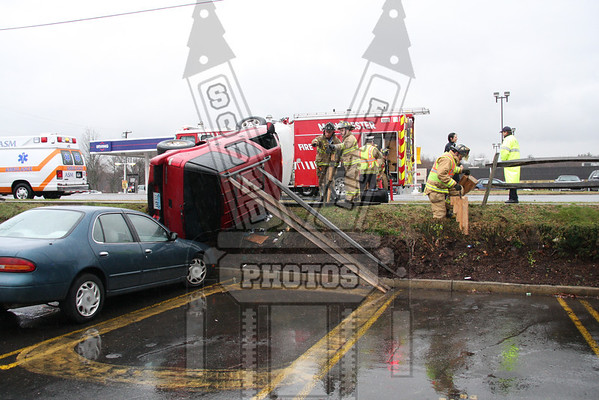 Manchester, Ct Rollover accident