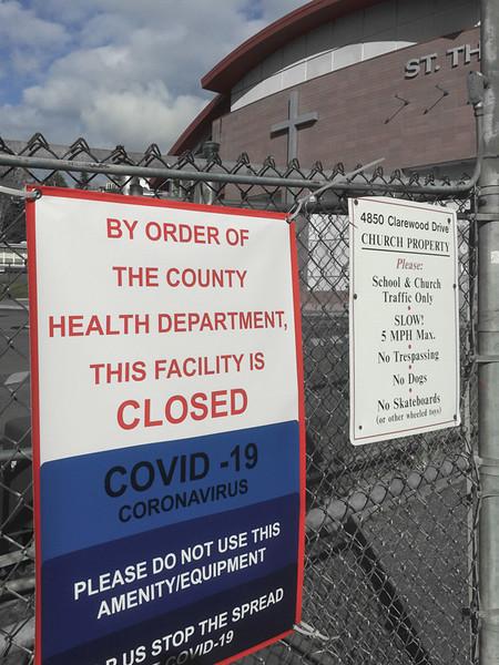 St. Theresa Catholic School closed