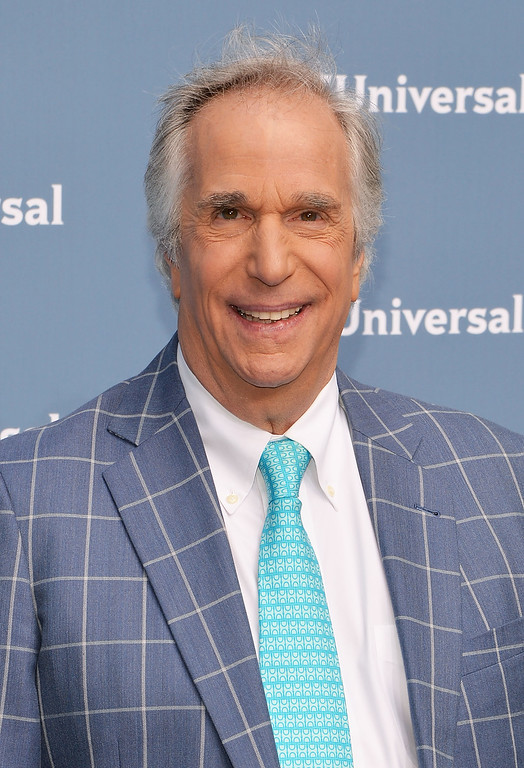 . Henry Winkler attends the NBCUniversal 2016 Upfront Presentation on May 16, 2016 in New York, New York.  (Photo by Slaven Vlasic/Getty Images)