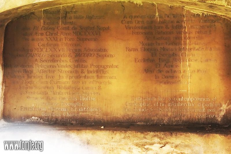 George Mackenzie's mausoleum