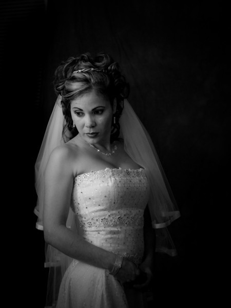 Portrait Class Bridal Shoot