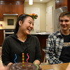 2018-01-22 Elise 17th Birthday V(13) Cake Caleb