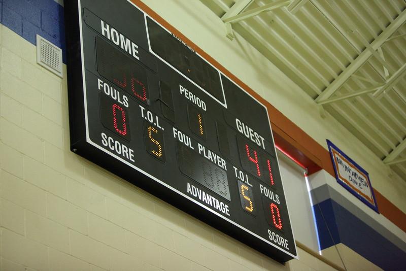 AMHS Staff vs Students Basketball April 5 2013