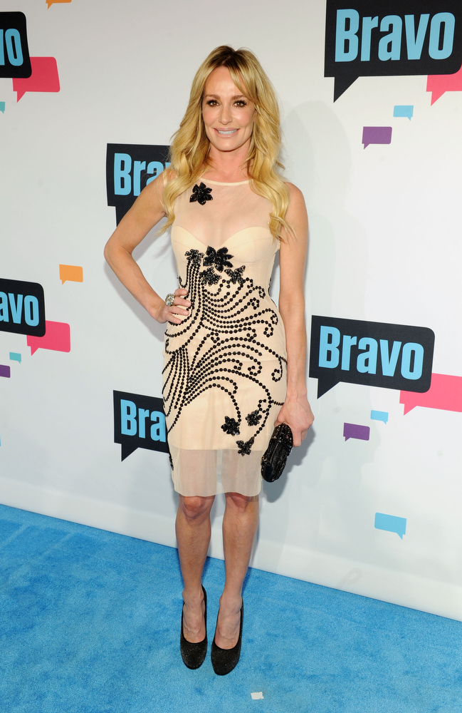 . Taylor Armstrong attends the 2013 Bravo New York Upfront at Pillars 37 Studios on April 3, 2013 in New York City.  (Photo by Craig Barritt/Getty Images)