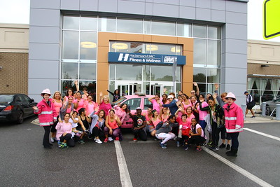 Pink Heals Bergen County / Hackensack HUMC Fitness and Wellness powered by the Giants.
