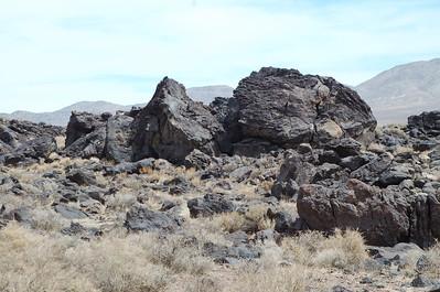 Fossil Falls BLM gebied
