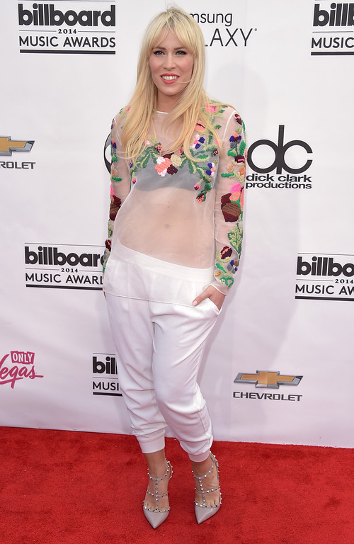 . Natasha Bedingfield arrives at the Billboard Music Awards at the MGM Grand Garden Arena on Sunday, May 18, 2014, in Las Vegas. (Photo by John Shearer/Invision/AP)