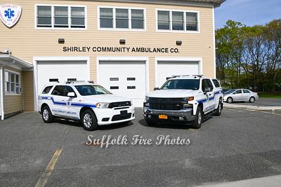 Shirley Community Ambulance New Chiefs Trucks  {05/06/2021}