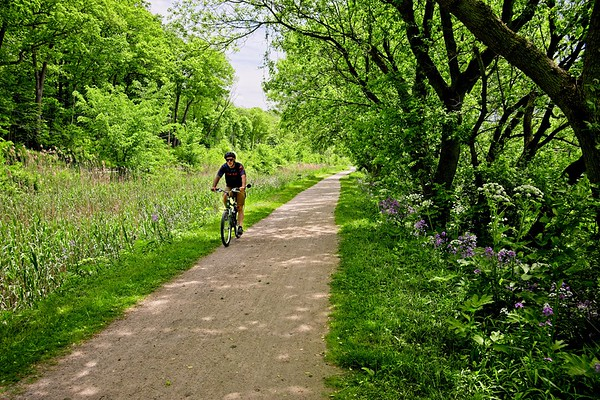 Bike Ride on the Towpath