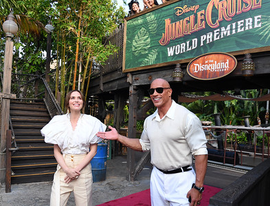 Jungle Cruise World Premiere at Disneyland