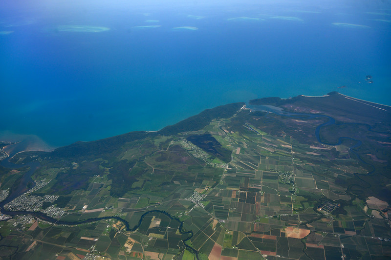 flying from Cairnes to Melbourne