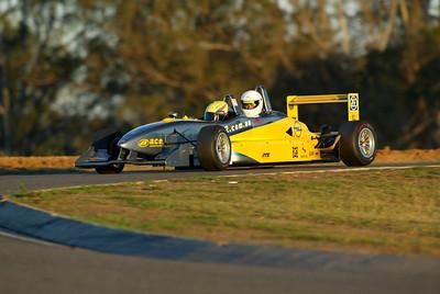 Two-seater Formula 3 ride, Oran Park 2002