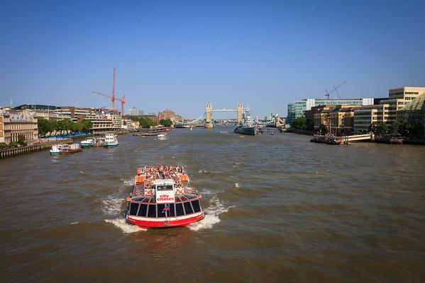London: Along the Thames