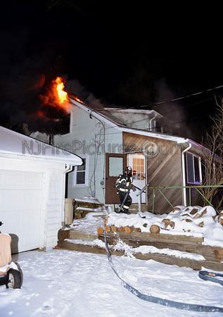 ROXBURY, NJ HOUSE FIRE 126 SHIPPENPORT RD.  JANUARY 27,  2014