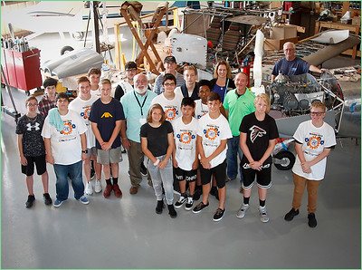 2019-10-04 HIGH SCHOOL STUDENTS HANGER TOUR