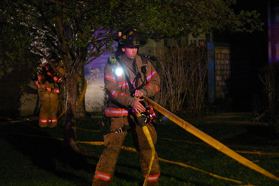 House Fire 1101 N. Lakewind (3/25/07)