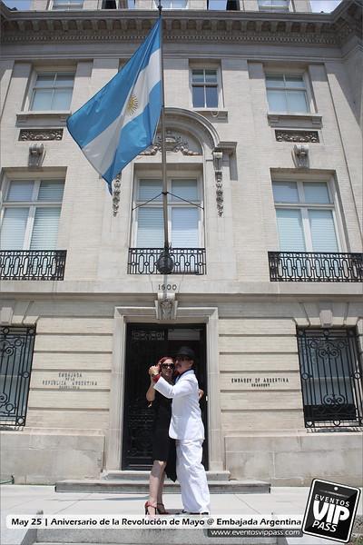 Aniversario de la Revolución de Mayo - Embajada Argentina | Fri, May 25