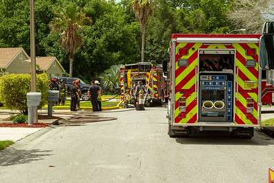 Structure Fire Hudson Fl - Bluffview Way - 6/7/21