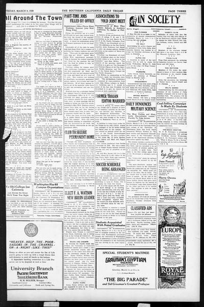 Daily Trojan, Vol. 17, No. 104, March 09, 1926