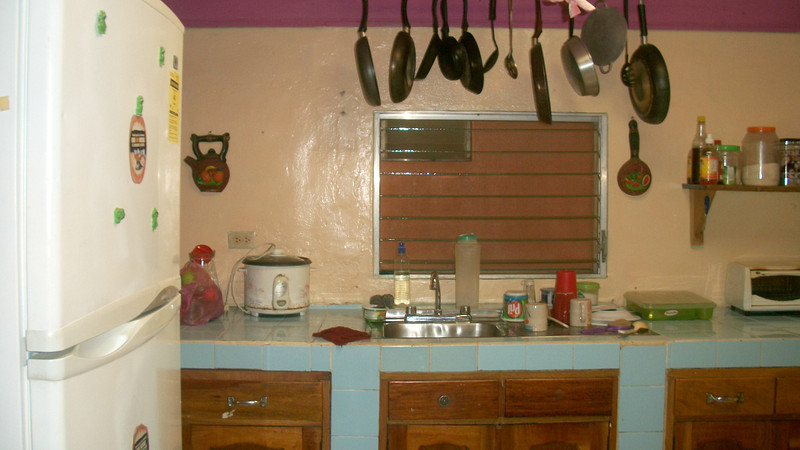 Communal Kitchen for you to use (please clean up well after yourself) at REBECCA'S INN - San Juan del Sur, Nicaragua