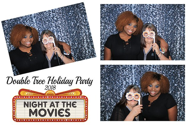 """Double Tree """"Night At The Movies Holiday Party 2018"""""""