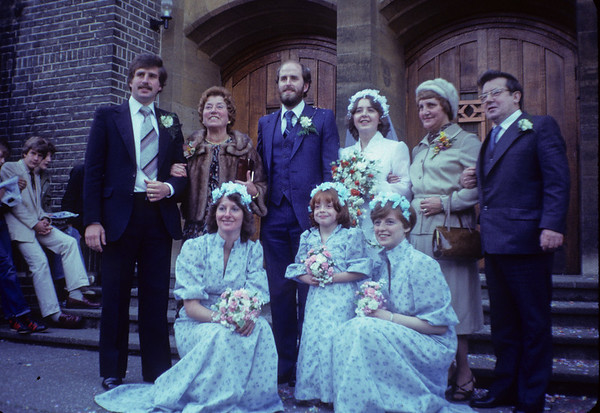 Martin Leach's Wedding