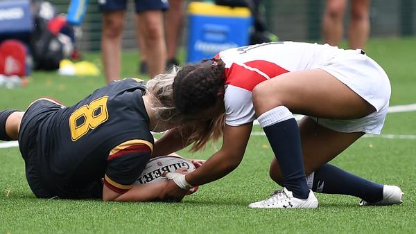 2018 07 21e - HN Womens U18s 7s Wales 17 v England 17