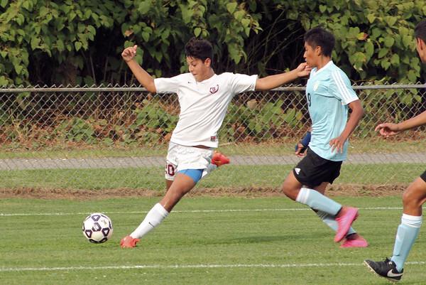 Varsity Boys Soccer vs Kolbe Cathedral - 09/20/2016