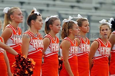 Cheerleaders Marshall 9/2/10