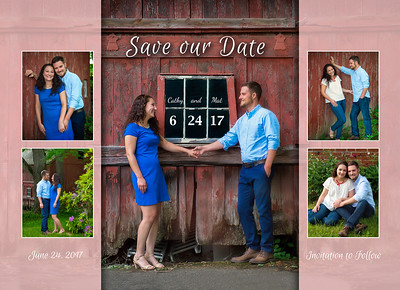 Cathy  and Mat Save the Dates