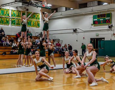 Set two: VIHS Winter Cheer at Girls Basketball v Cascade Christian 01/15/2019