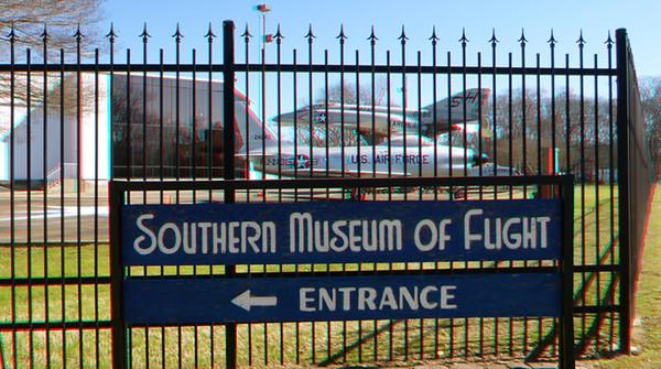 Birmingham Museum of Flight Outdoor Display 3D