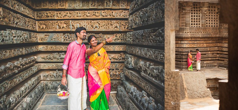 LightStory-CoupleShoot-Hassan-Bangalore-Hoysaleswara-Halebidu-Sunflowers-011.jpg