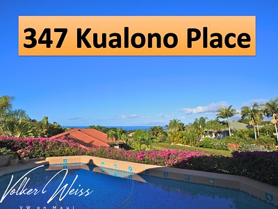 347 Kualono Place, Wailea, Hawaii