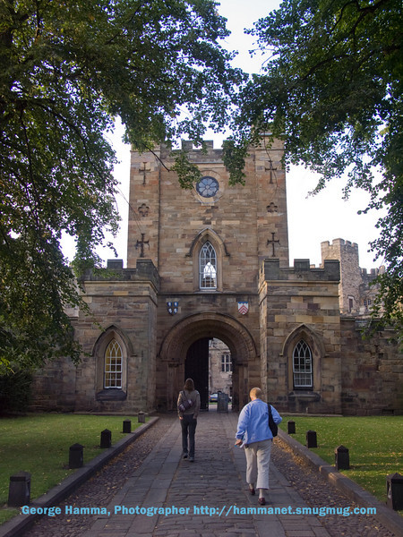 Durham Castle gatehouse
