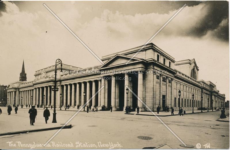 The Pennsylvania Railroad Station, N.Y.