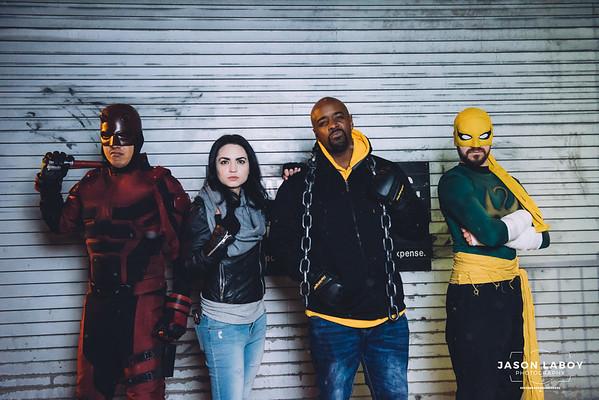 Marvel Defenders Cosplay Photoshoot