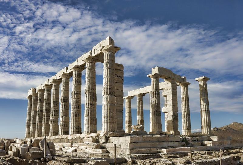 Doric Columns [Athens – Greece]